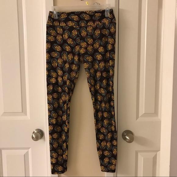 d7cc760171c08 LuLaRoe Pants | Gently Used Leggings Os | Poshmark